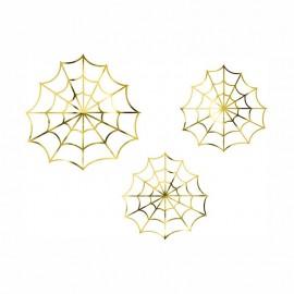 ragnatele decorative oro Spiderman