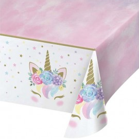 tovaglia unicorno festa