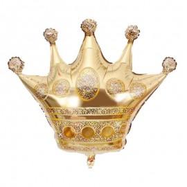 palloncino corona oro