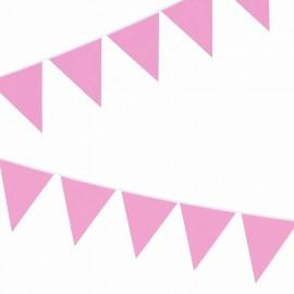 bandierine rosa in plastica leggera