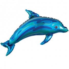 palloncino delfino blu pz.1