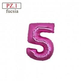 """Mylar Mini Numero """"5"""""""