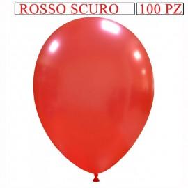palloncino metallizzato da 13 pollici rosso scuro