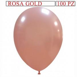 palloncino metallizzato da 13 pollici rosa gold