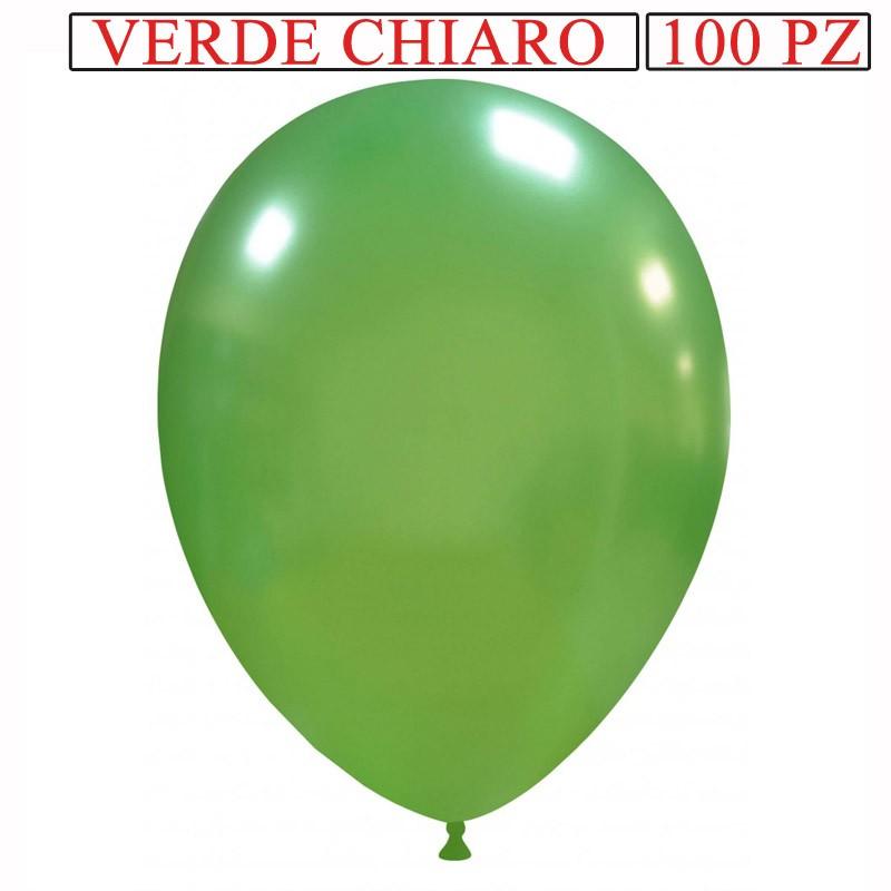 palloncino metallizzato da 13 pollici verde chiaro