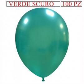 palloncino metallizzato da 13 pollici verde scuro