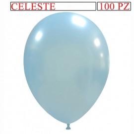 palloncino metallizzato da 13 pollici celeste