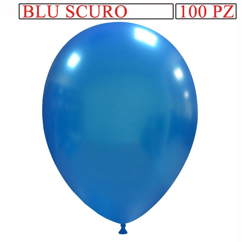 palloncino metallizzato da 13 pollici blu scuro