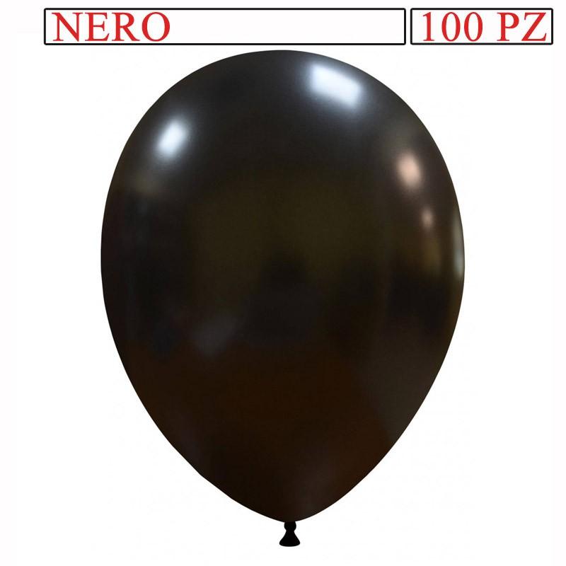 palloncino metallizzato da 13 pollici nero