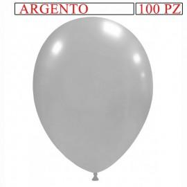 palloncino metallizzato da 13 pollici argento