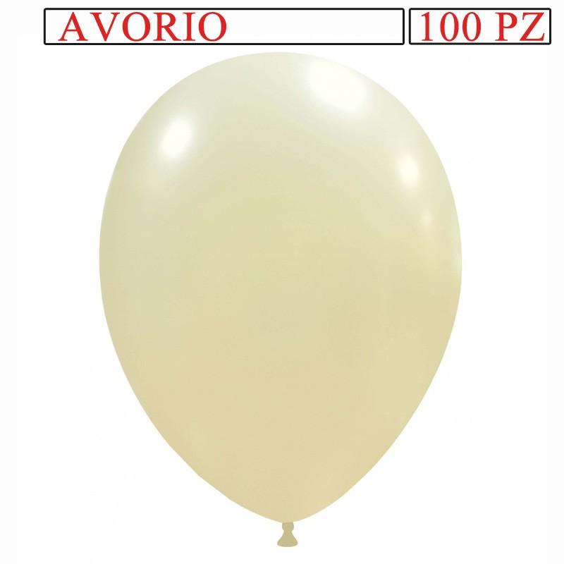 palloncino metallizzato da 13 pollici avorio