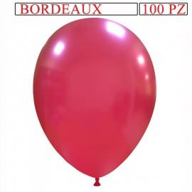 palloncino metallizzato da 13 pollici bordeaux
