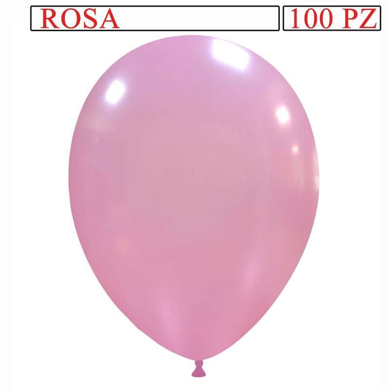 palloncino metallizzato da 13 pollici rosa