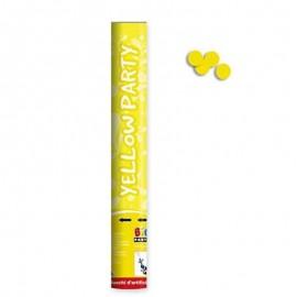 spara coriandoli giallo cm.40