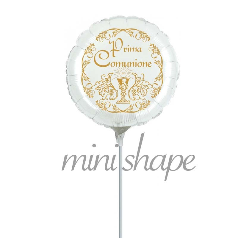 palloncino prima comunione mini shape