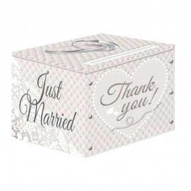 scatola raccogli buste sposi