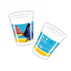 bicchieri di Dory e Nemo