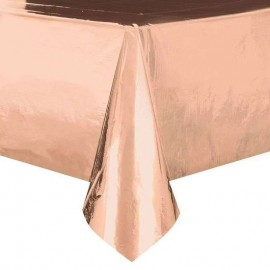 tovaglia rosa gold pvc