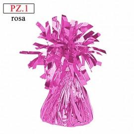 pesetto rosa per palloncini ad elio