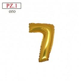 """Mylar Mini Numero """"7"""""""
