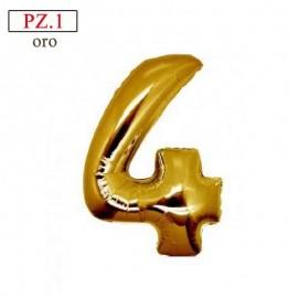palloncino 4 oro misura cm.35