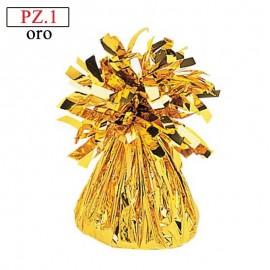 Pesetto Oro per palloncini pz.1