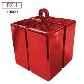 peso scatolina rossa per palloncini ad elio