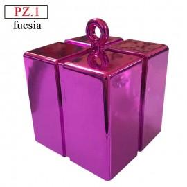 pesetto fucsia gift box per palloncini ad elio