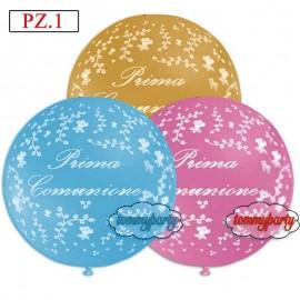 esempio colori palloncino prima comunione cm.55