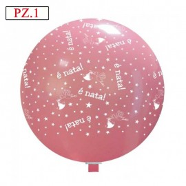 palloncino stampa è nata colore rosa