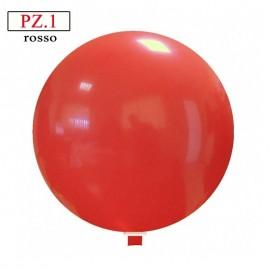 pallone cm. 60 rosso pastello