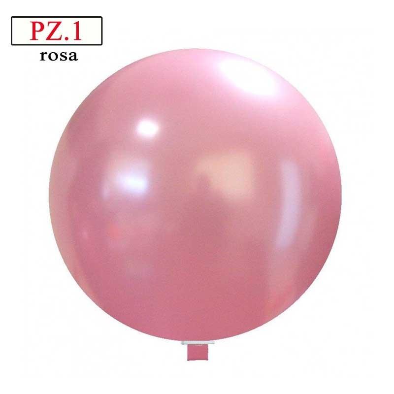 Pallone  cm. 60 rosa metallizzato