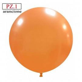 pallone cm.81 arancione metallizzato
