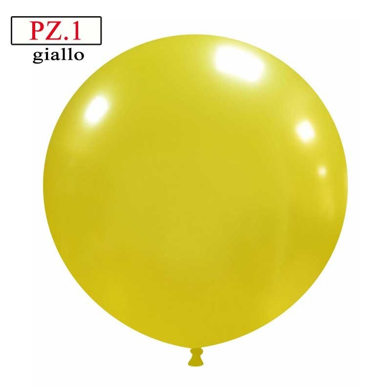pallone cm.81 giallo metallizzato