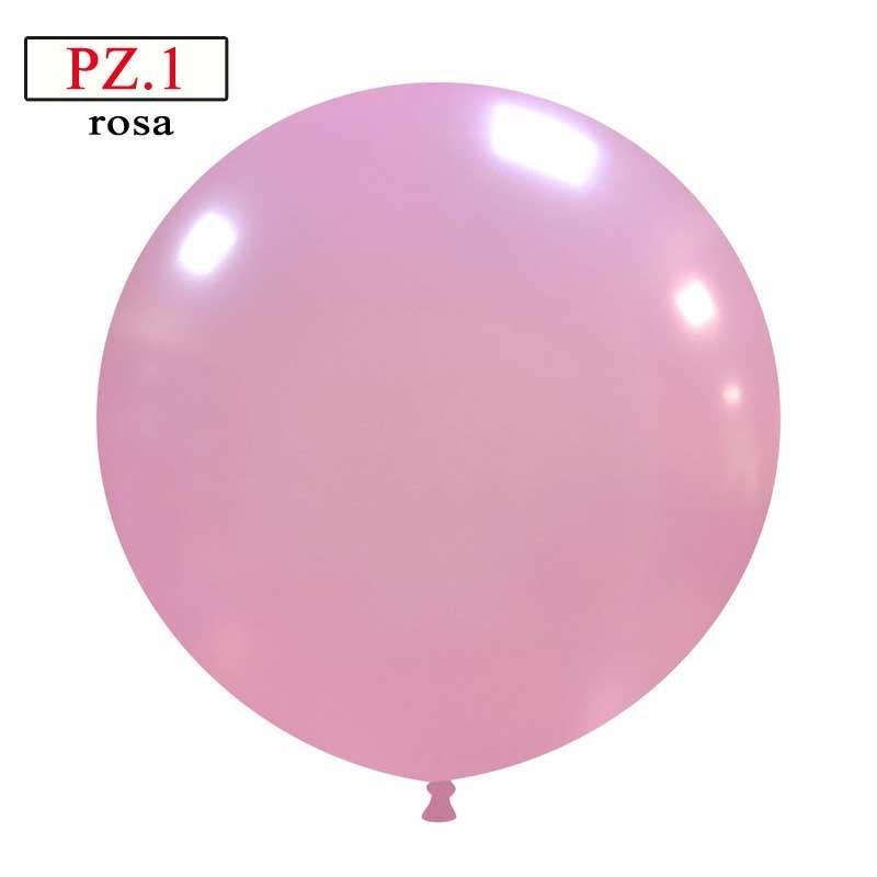 pallone cm.81 rosa metallizzato