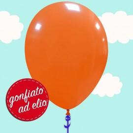 palloncino arancione pastello ad elio