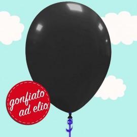 palloncino nero pastello ad elio