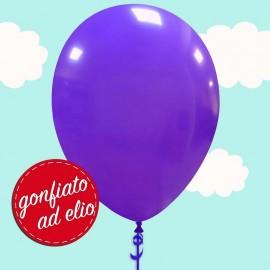 palloncino viola pastello ad elio
