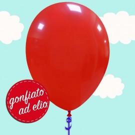 palloncino rosso scuro ad elio