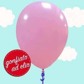 palloncino rosa pastello ad elio