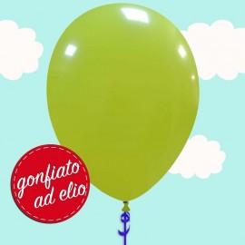 palloncino verde chiaro ad elio
