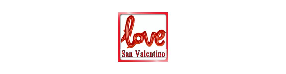 Palloncini Cuore San Valentino | di colore rosso su Tommyparty.it|