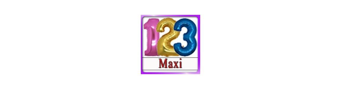 Palloncino Numerone Maxi da cm.100 disponibile su Tommyparty.it
