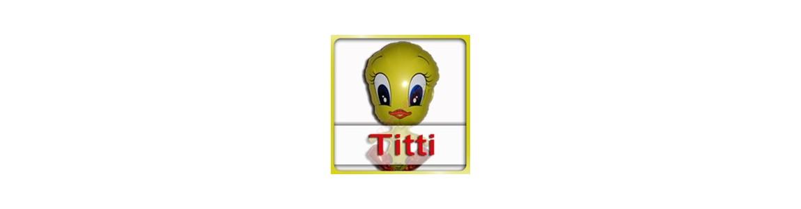 Titti il canarino | palloncini e composizioni ad elio su Tommyparty.it