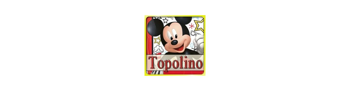 Mickey Mouse Topolino | palloncini e bicchieri festa