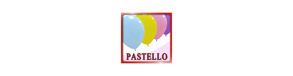 palloncini colore pastello ad elio
