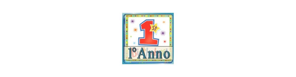 Palloncino festa Primo Compleanno | per bimbo su tommyparty.it