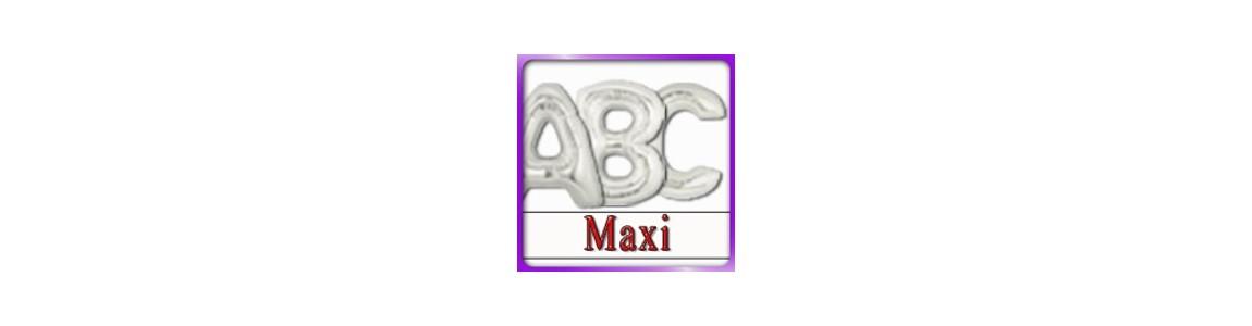 Palloncino a forma di Lettera Maxi | gonfiabile aria - elio
