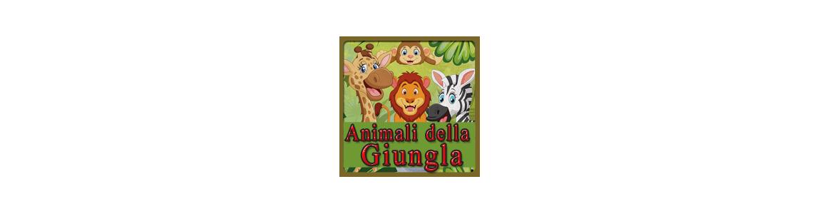 Animali della Giungla | bicchieri e palloncini a tema