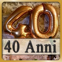 40 Anni palloncini
